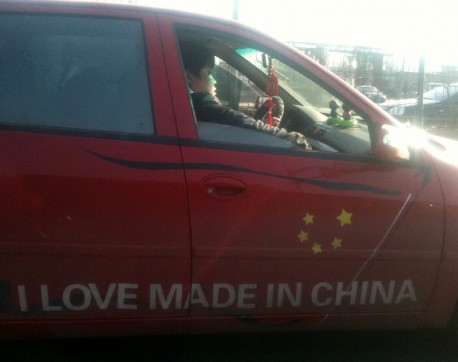 Chinese Lifan driver Likes it Chinese