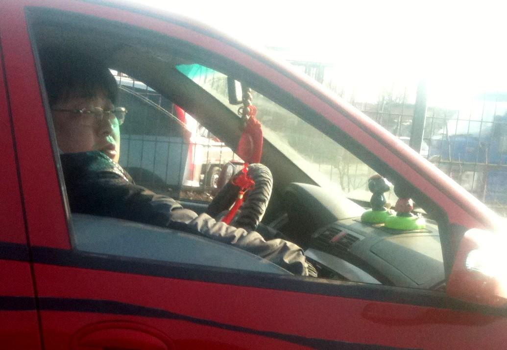 Chinese Lifan driver Likes it Chinese