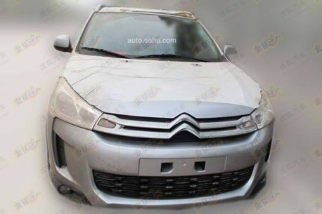 Spy Shots: China-made Citroen C4 Aircross testing in China