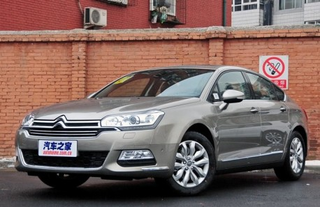 Facelifted Citroen C5 launched on the Chinese car market
