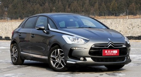 Citroen DSX Crossover will debut on the Shanghai Auto Show