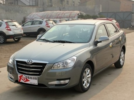 Facelifted Dongfeng Fengshen S30 from all Sides in China