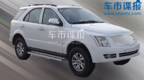 Spy Shots: Dongfeng-Liuzhou V20 does the Cadillac SRX in China