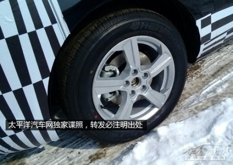 Spy Shots: FAW-Besturn MPV testing in China