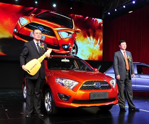FAW-Xiali N7 hits the Chinese car market