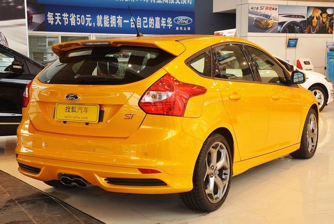 Ford Focus ST hits the Chinese auto market - CarNewsChina.com