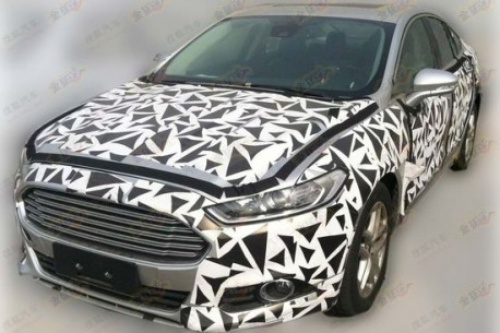 Spy Shots: Ford Mondeo seen testing in China