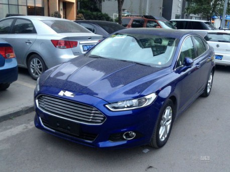 Spy Shots: new Ford Mondeo is almost Naked in China