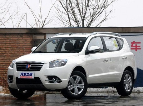 Geely Englon SX7 will hit the China car market on March 31