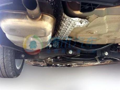 Spy Shots: Guangzhou Auto Trumpchi GS3 seen testing in China