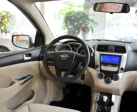 Haima M3 from all sides in China