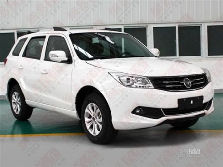 Spy Shots: facelifted Haima 7 SUV is Naked in china