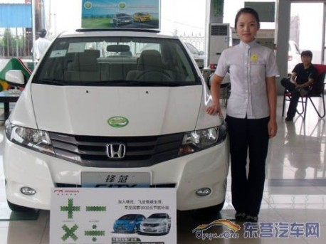 Honda sales in China down 27.1% in February