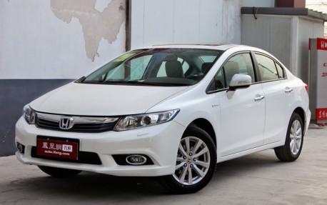 Patent Applied: 2013 Honda Civic sedan will arrive in China soon