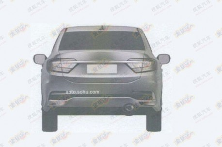 Patent Applied: production version of the Honda Concept C leaks out in China