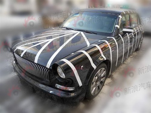 Spy Shots: Hongqi L7 seen testing in China again