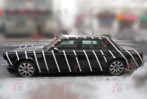 Spy Shots: Hongqi L7 seen testing in China again
