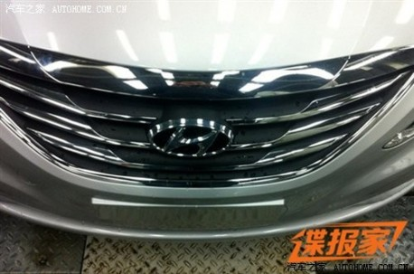Spy Shots: facelift for the Hyundai Sonata in China