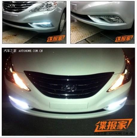 Spy Shots: facelift for the Hyundai Sonata in China