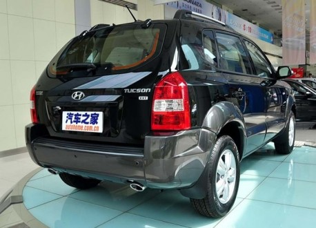 Facelifted Hyundai Tucson launched on the Chinese car market