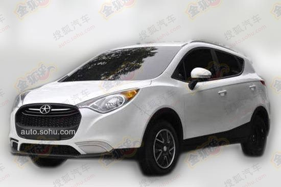 Spy Shots: JAC Heyue S30 is Naked in China