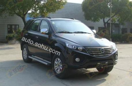 Spy Shots: Jiangnan Chunzhou SUV is ready for the Chinese car market