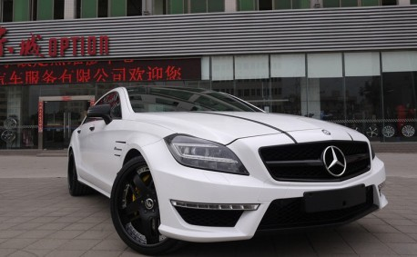 Kleeman Mercedes-Benz CLS63 AMG has 690hp in China