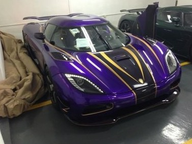 The one-off Koenigsegg Agera Zijin pops up in Hong Kong, with Friends