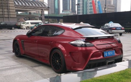 Spotted in China: Mansory Porsche Panamera Turbo