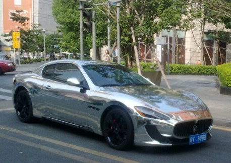Maserati GranTurismo S is Bling in China