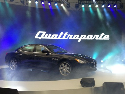 New Maserati Quattroporte hits the Chinese auto market