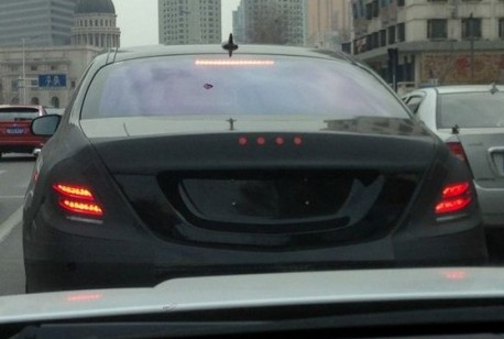 Spy Shots: new Mercedes S-Class testing in China
