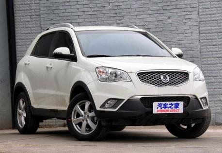 Spy Shots: MG SUV testing in China, based on Ssangyong Korando