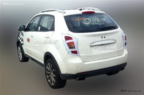 Spy Shots: MG SUV testing in China, based on Ssangyong Korando