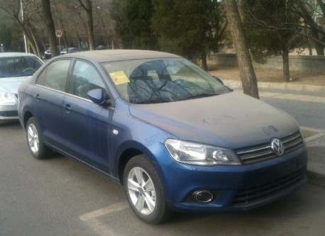 New Volkswagen Jetta is collecting Dust in China
