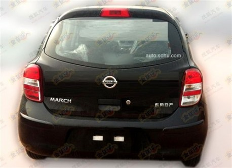 Spy Shots: Nissan March will get a 1.2 Supercharged engine in China
