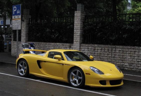 Porsche Carrera gt Price 2013 Porsche Carrera gt is Yellow