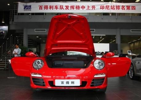 Porsche sales in China up 17.5%