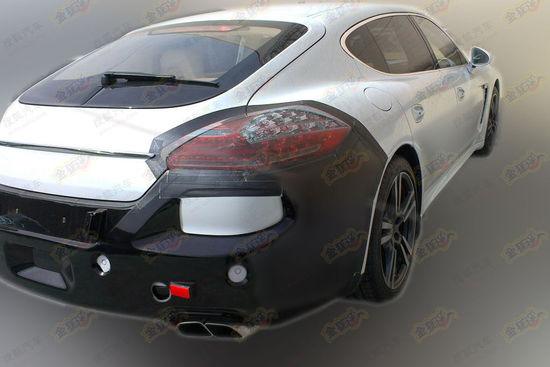 This is the extended-wheelbase 2014 Porsche Panamera for China