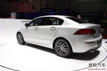Qoros 3 Sedan debuts on the Geneva Motor Show