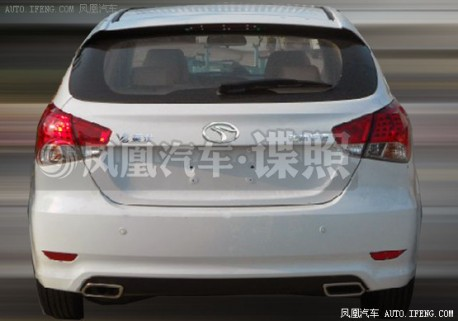 Spy Shots: SouEast V6 Ling Shi is ready for the China auto market