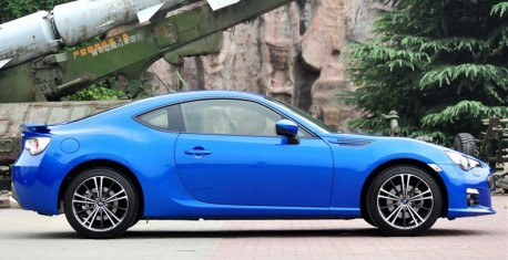 Subaru BRZ hits the China car market