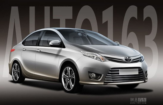 com says this is the new Toyota Vios, design-wise based on the Toyota