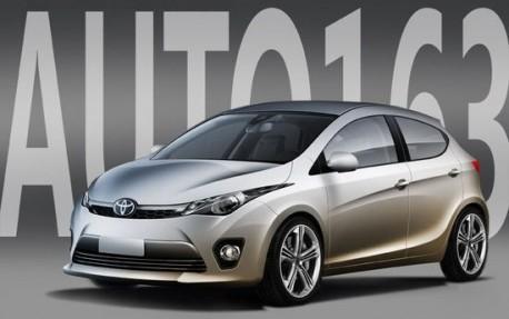 Toyota Dear hatchback = new Toyota Yaris for China