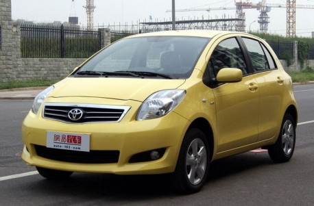 Toyota Dear hatchback = new Toyota Yaris for China
