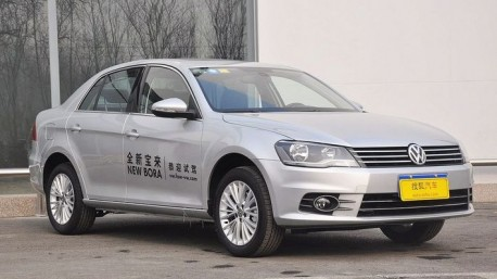 Spy Shots: old Volkswagen Bora to make a Come Back in China