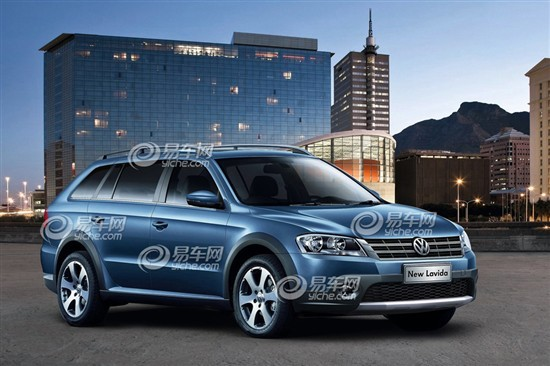 Rendered Speculation: Volkswagen Lavida Cross for the China car market
