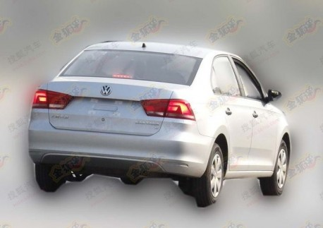 Spy Shots: new Volkswagen Santana goes Cheap in China