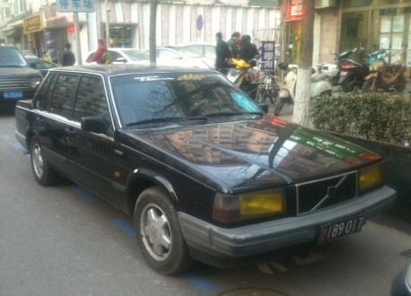 Spotted in China: Volvo 740 GL