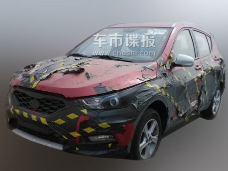 Spy Shots: FAW-Xiali T012 seen testing in China